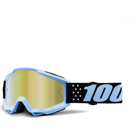 100% Accuri Anti Fog Mirror goggles blauw